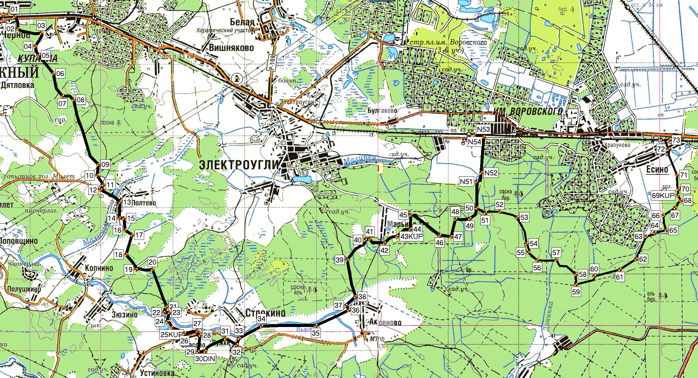 карта московской области рыболовная