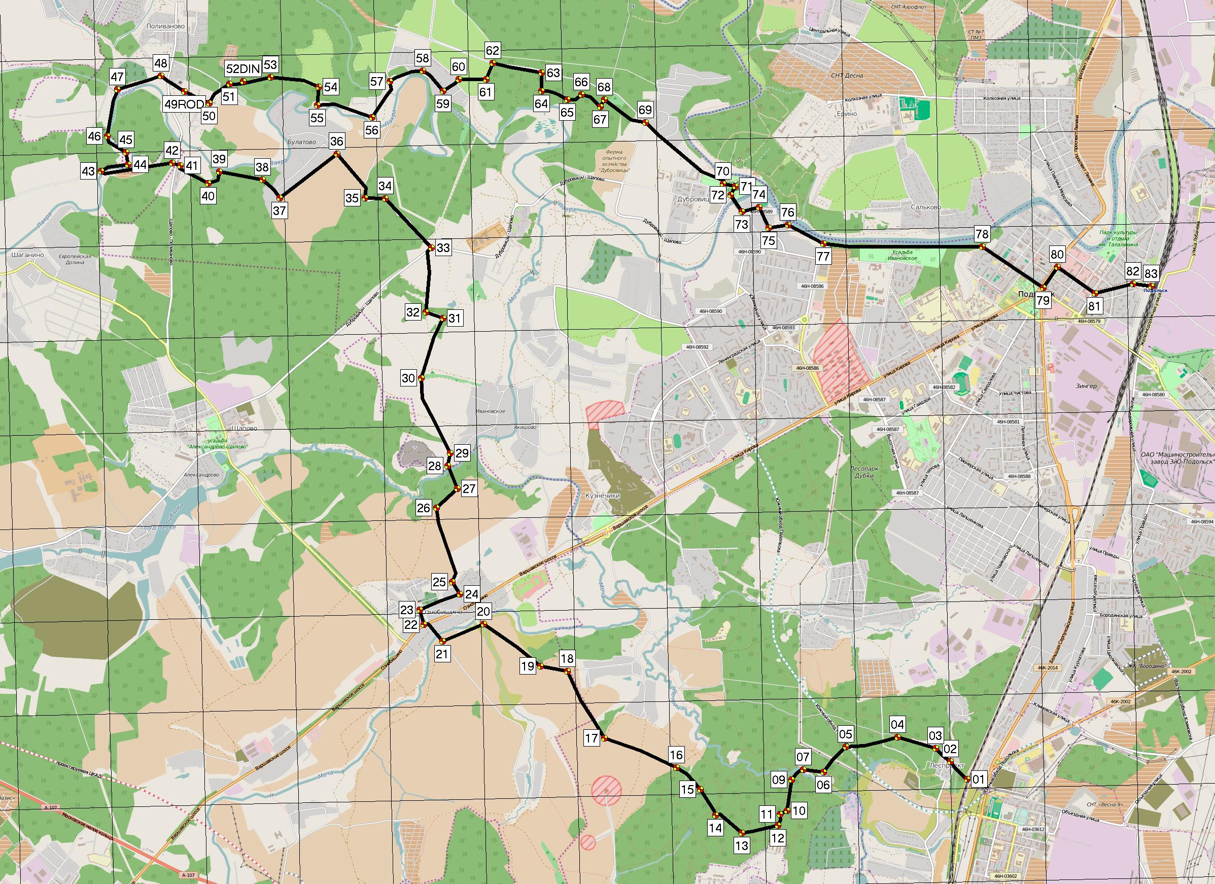 Подольский район поливаново с наторий им ленина показать фото схема
