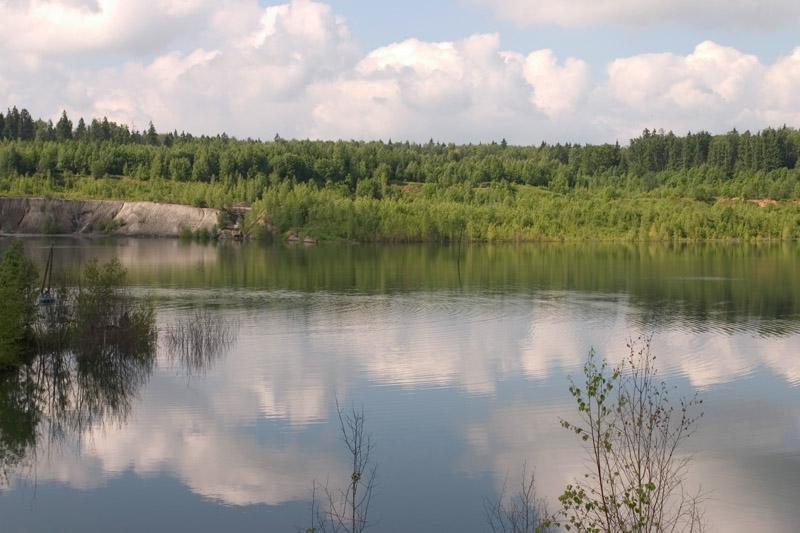 рыбалка озеро цернское